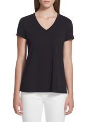 Lafayette 148 New York The Modern V-Neck T-Shirt