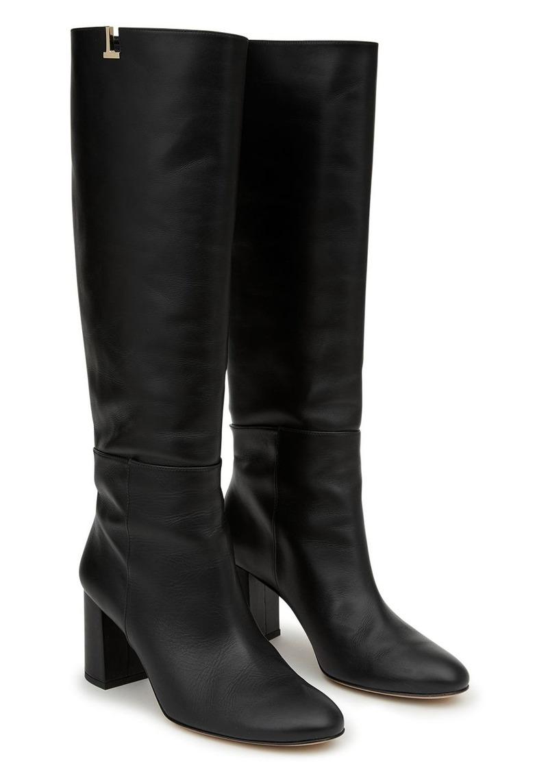 Lafayette 148 New York Women's Vale High Block Heel Boots