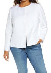Lafayette 148 NewYork Kade Tweed Jacket (Plus Size)