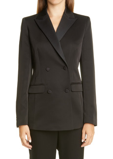 Women's Lafayette 148 New York Holton Double Breasted Blazer