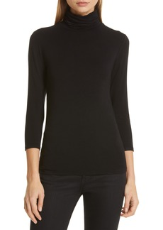 L'AGENCE Aja Jersey Turtleneck Top