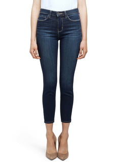 L'AGENCE Margot High Waist Crop Skinny Jeans