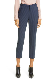 L'AGENCE Sawyer Pinstripe Crop Trousers