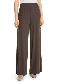 L'AGENCE The Crawford Wide Leg Knit Pants