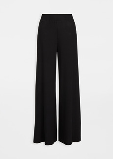 L'AGENCE The Crawford Ribbed Wide Leg Pants