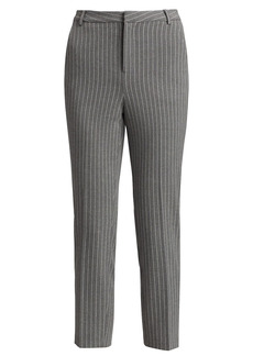 L'Agence Ludivine Pinstripe Cropped Pants