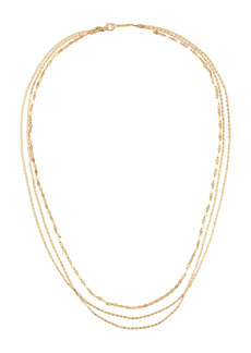 Lana Jewelry Mega Gloss Blake Triple Chain Necklace