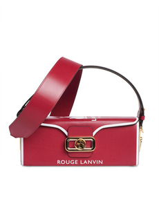 LANVIN Pencil Clasp Box Bag