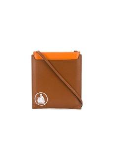Lanvin logo-stamp cross-body bag