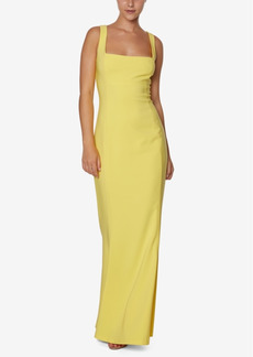 Laundry by Shelli Segal Square-Neck Mermaid Gown
