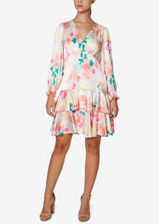 Laundry by Shelli Segal Tiered Shift Dress