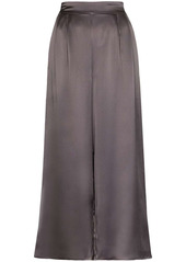 Le Kasha high-rise wide-leg trousers