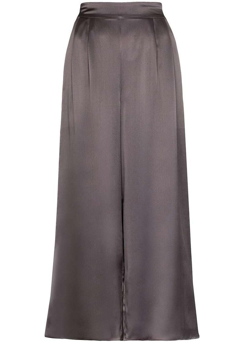 Le Kasha high-rise wide-leg trousers