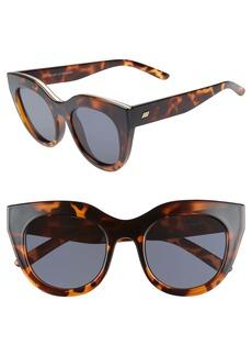 Le Specs Air Heart 51mm Sunglasses