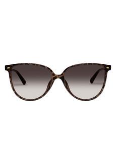 Le Specs Eternally 57mm Cat Eye Sunglasses