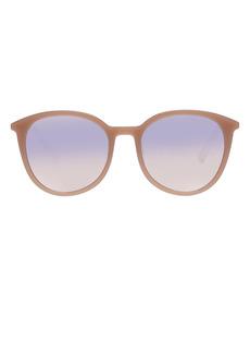 Le Specs Le Danzing 52mm Gradient Round Sunglasses