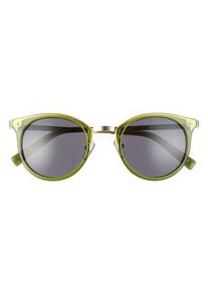 Le Specs Promiscuous 49mm Cat Eye Sunglasses