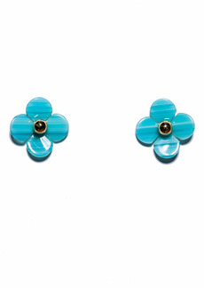 Lele Sadoughi Poppy Button Stud Earrings