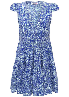 Lemlem Halima Printed Flutter Sleeve Mini Dress