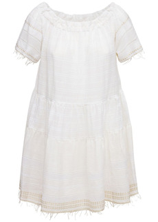 Lemlem Kelali Off-the-shoulder Mini Dress