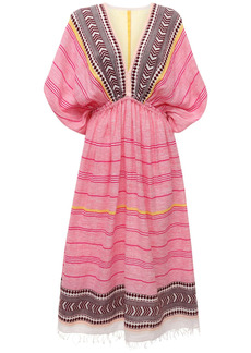 Lemlem Neela Cotton Blend Long Dress