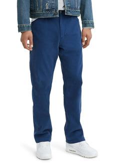 Levi's® Stay Loose Carpenter Pants (Estate Blue Herringbone)