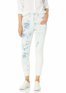 Levi's Women's 721 High Rise Skinny Ankle Jeans Indigo Earthy Overdye  (US 12)