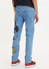 Levi's® x Disney 502™ Mickey Print Regular Tapered Leg Jeans (Indigo)