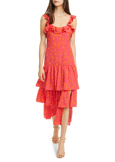 LIKELY Janie Floral Tiered Dress