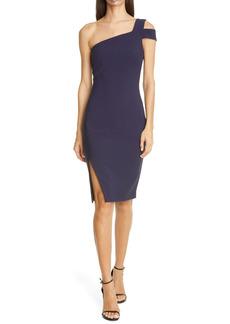 LIKELY Packard One-Shoulder Sheath Dress