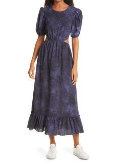 LIKELY Rosa Tie Dye Midi Dress