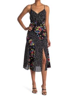 LIKELY Saige Mixed Print Maxi Dress