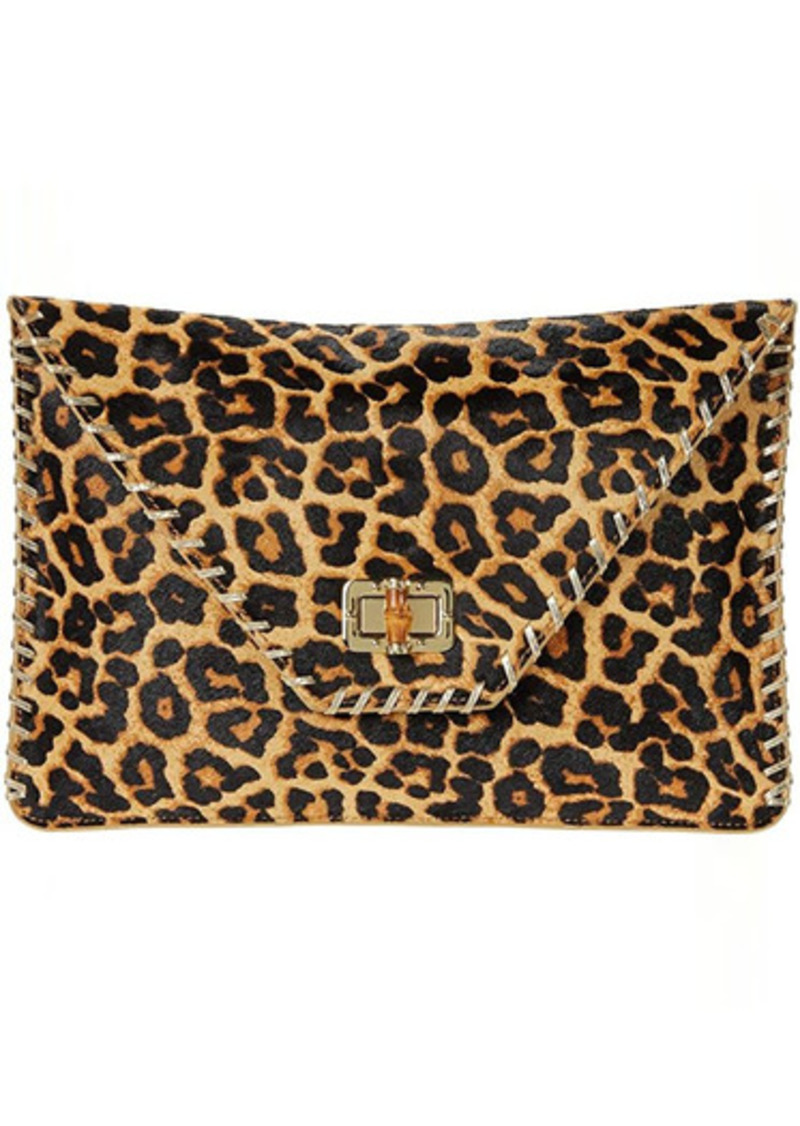 Lilly Pulitzer Celina Leopard Print Clutch