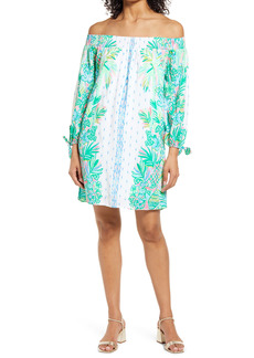 Lilly Pulitzer® Maryellen Off the Shoulder Long Sleeve Dress