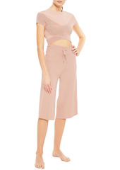 Live The Process Woman Knitted Culottes Blush