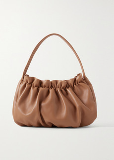 Loeffler Randall Alicia Gathered Leather Shoulder Bag