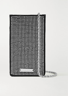 Loeffler Randall Augusta Crystal-embellished Satin Shoulder Bag