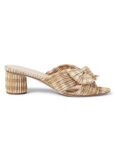Loeffler Randall Emilia Gingham Mule Sandals
