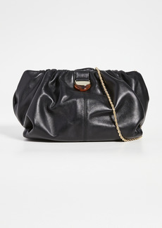 Loeffler Randall Analeigh Oversized Gathered Clutch