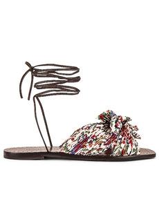 Loeffler Randall Peony Knot Wrap Sandal