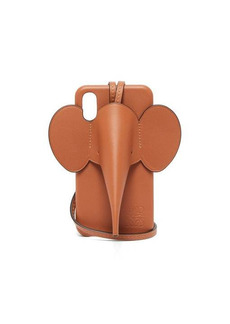 Loewe Elephant iPhone® XS Max leather phone case
