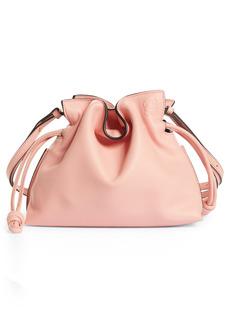 Loewe Mini Flamenco Leather Clutch