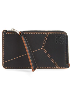 Loewe Puzzle Stitch Leather Card Case