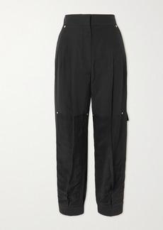 Loewe Paneled Woven Tapered Pants