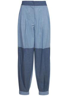 Loewe Patchwork Washed Chambray Pants