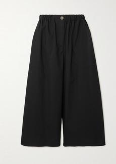 Loewe Paula's Ibiza Cropped Cotton Wide-leg Pants