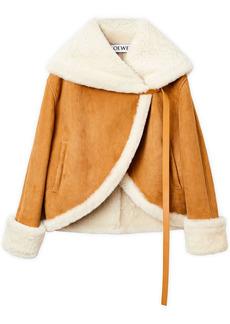 Loewe Shearling Leather Jacket