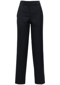 Loewe Wool Twill Straight Pants
