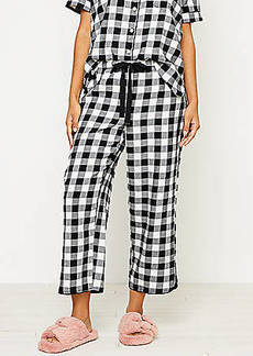 LOFT Buffalo Plaid Pajama Pants