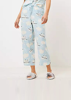 LOFT Cloud Kitty Pajama Pants